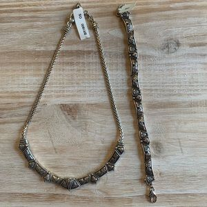 Brighton Jewelry - Brighton Necklace and Bracelet Set